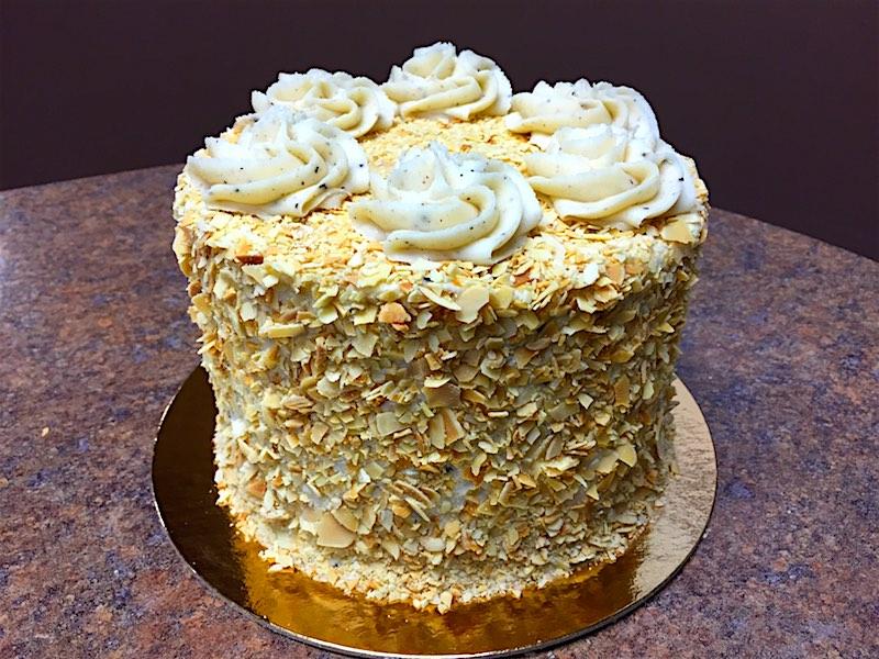 How To Make Toasted Almond Cream Cake