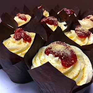 Cherry Cheesecake Cupcake