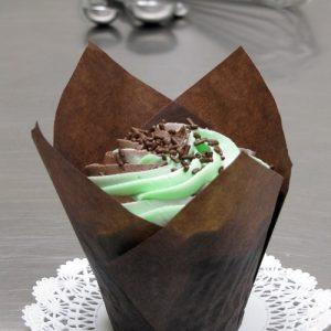 Chocolate Mint Cupcake