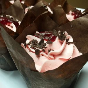 Image of Chocolate Raspberry Cupcake