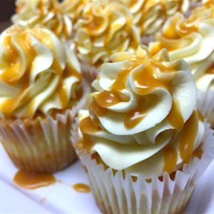 Caramel Cheesecake Cupcake