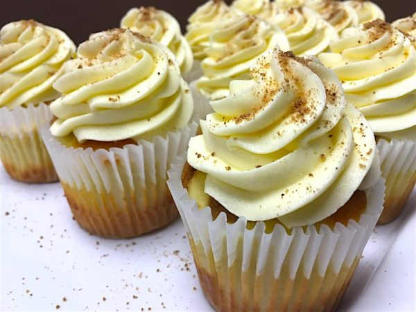 Cookie Dough Cheesecake Cupcake