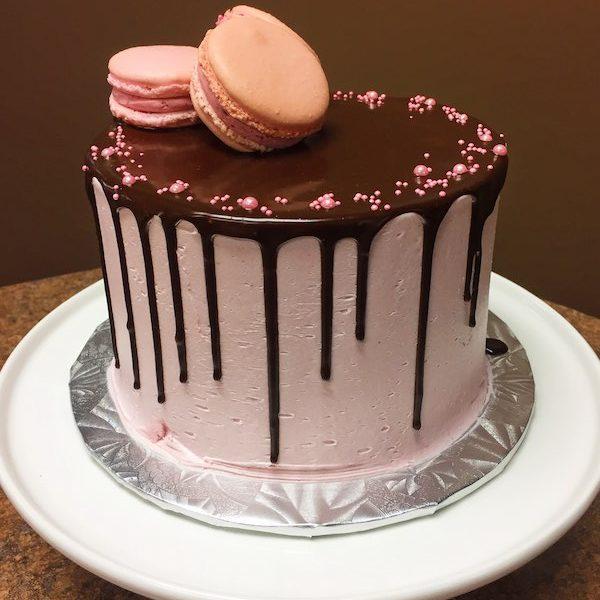 French Chocolate Cake With Ganache