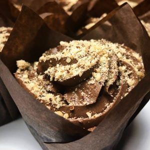 Image of Chocolate Hazelnut Cupcake