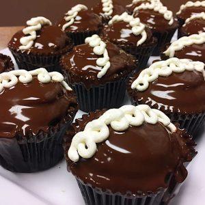 Image of Ding Dong cupcake