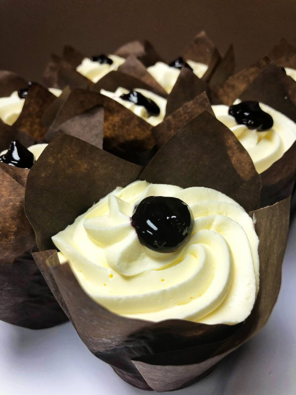 Image of Blueberry Lemonade cupcake