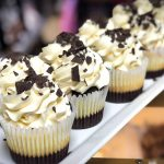image of Brownie Cheesecake cupcakes