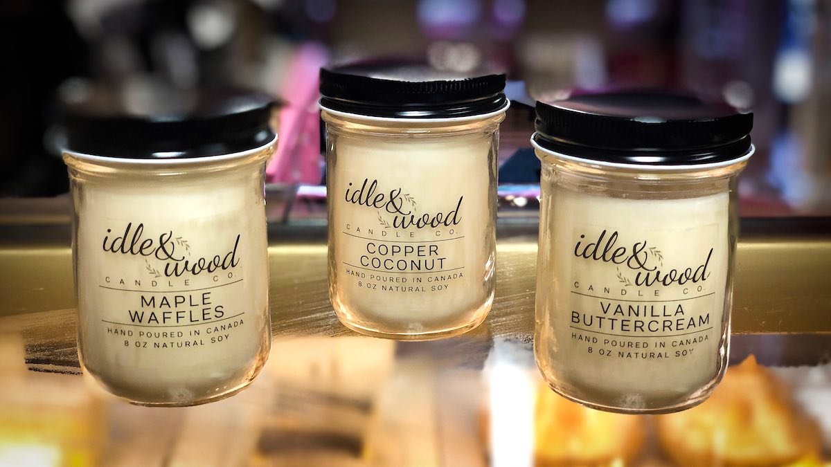 image of Idle & Wood Candle Co. Candles
