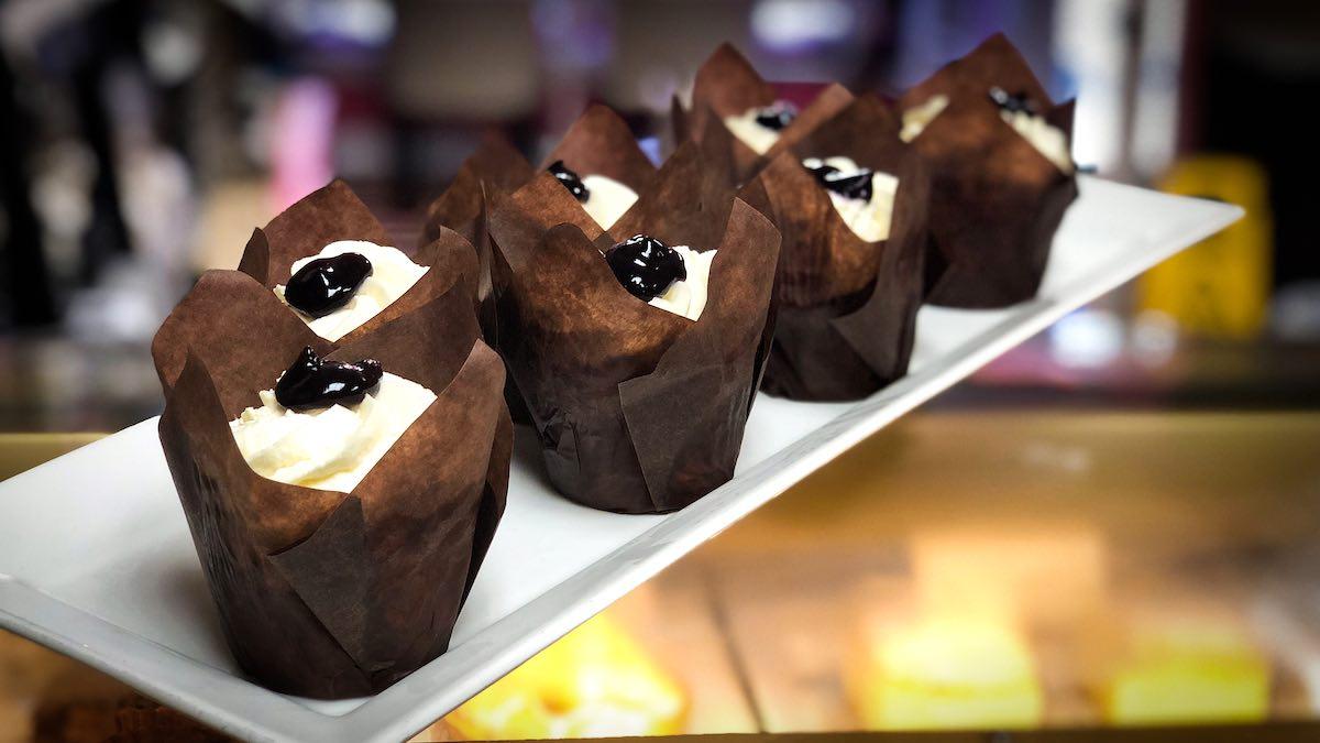 image of Blueberry Pie cupcakes