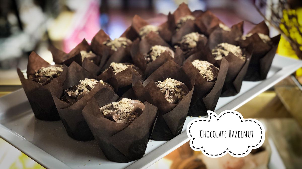 image of Chocolate Hazelnut cupcakes
