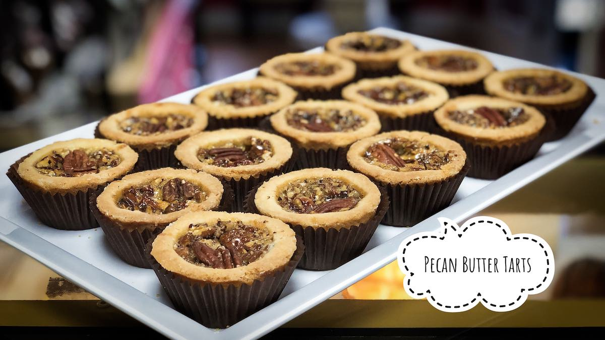 image of Pecan Butter Tarts