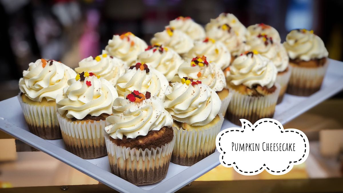 image of Pumpkin Cheesecake cupcakes