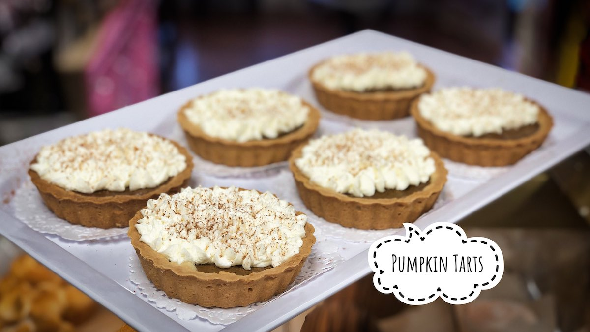 image of Pumpkin Tarts