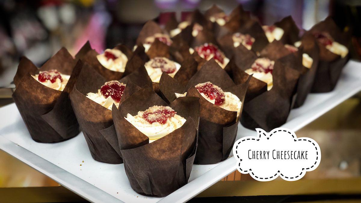 image of Cherry Cheesecake Cupcakes