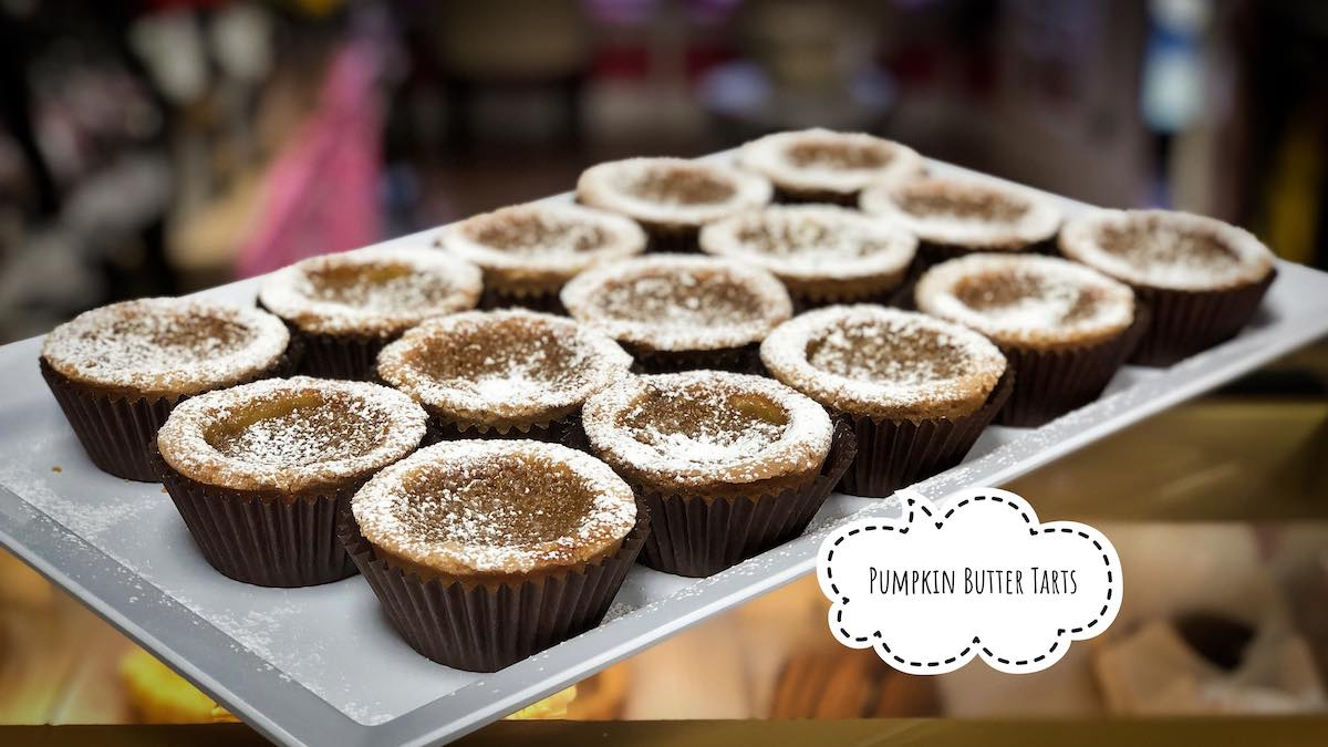 image of Pumpkin Butter Tarts