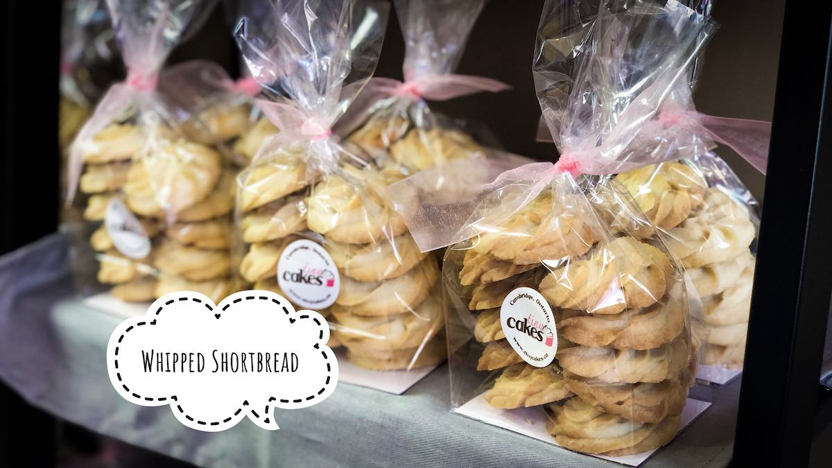 image of Whipped Shortbread cookies