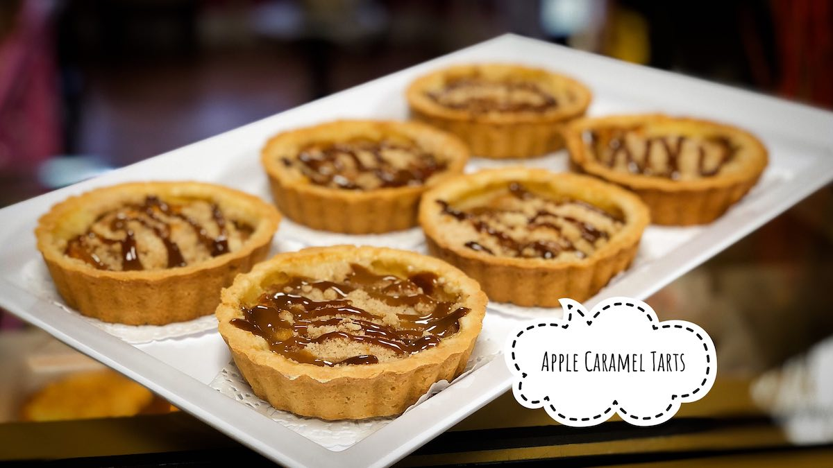image of Apple Caramel Tarts
