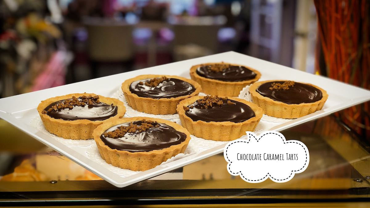 image of Chocolate Caramel Tarts