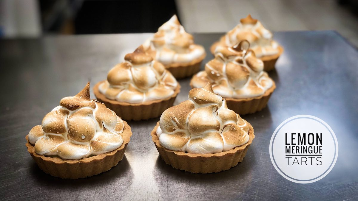image of Lemon Meringue Tarts