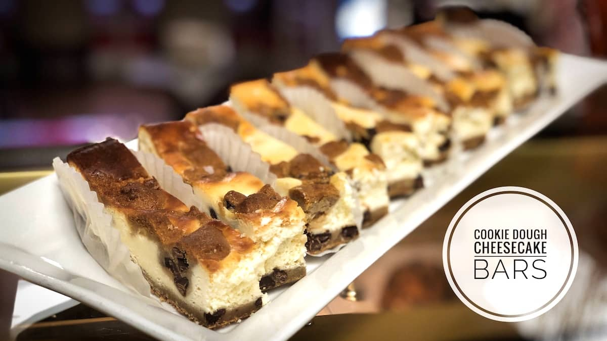 image of Cookie Dough Cheesecake Bars