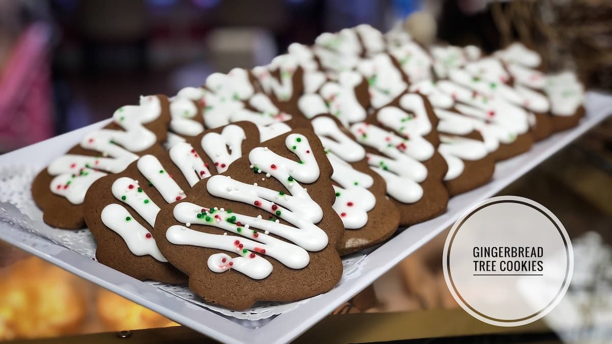 image of Gingerbread Tree Cookies