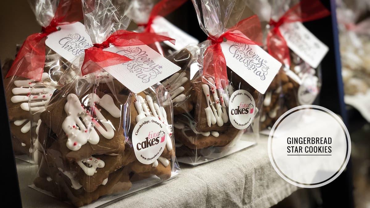 image of Gingerbread Star cookies