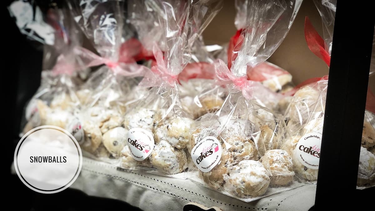 image of Snowball Cookies