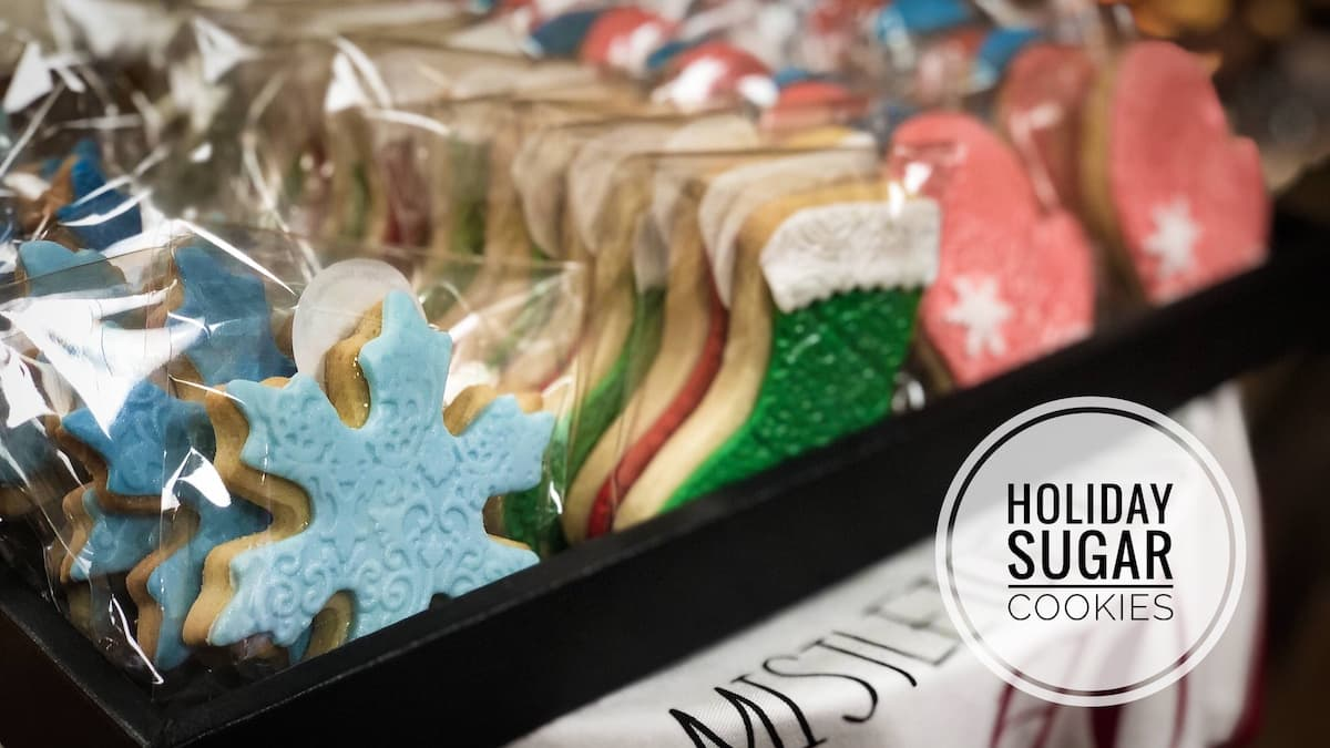 image of Holiday Sugar Cookies