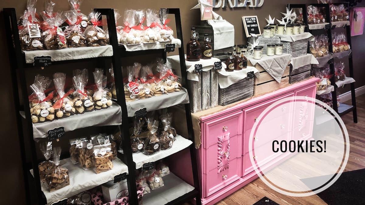 image of Cookie Display