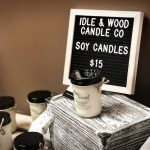 image of soy candles