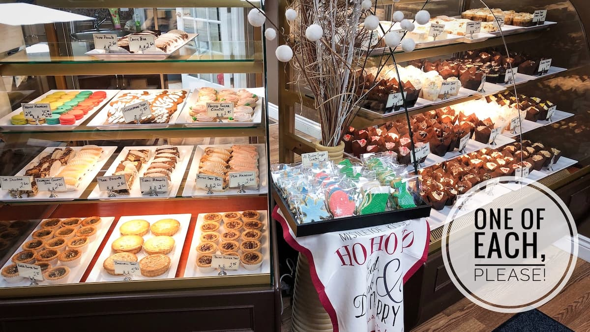 image of the pastry cases