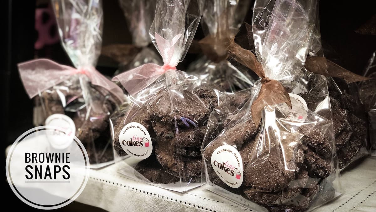 image of Brownie Snaps cookies