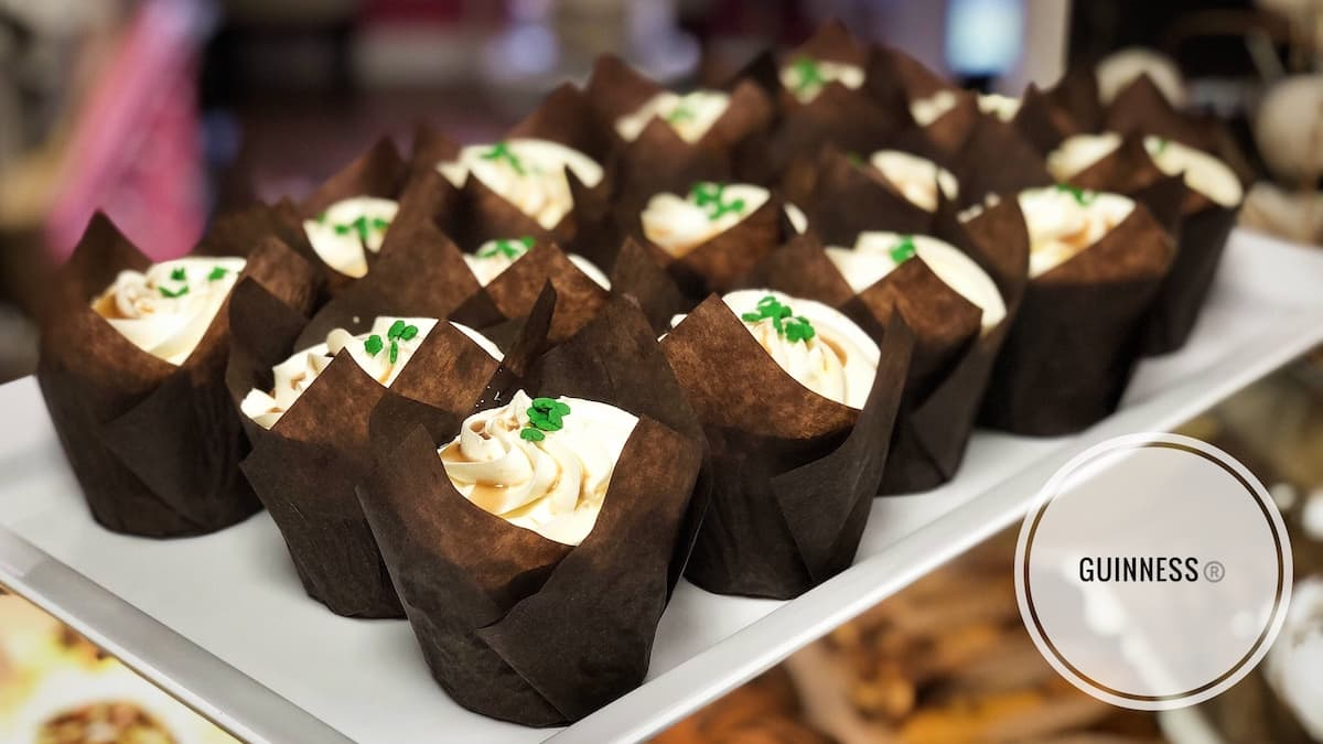 image of Guinness cupcakes