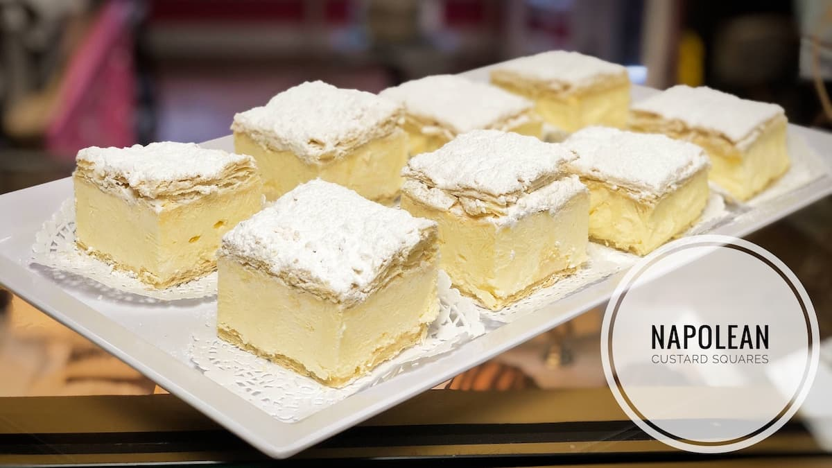 image of Napolean Custard Squares
