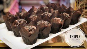 image of Triple Chocolate Cupcakes