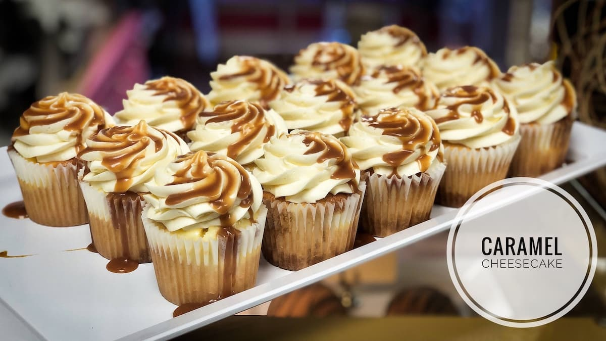 image of Caramel Cheesecake Cupcakes