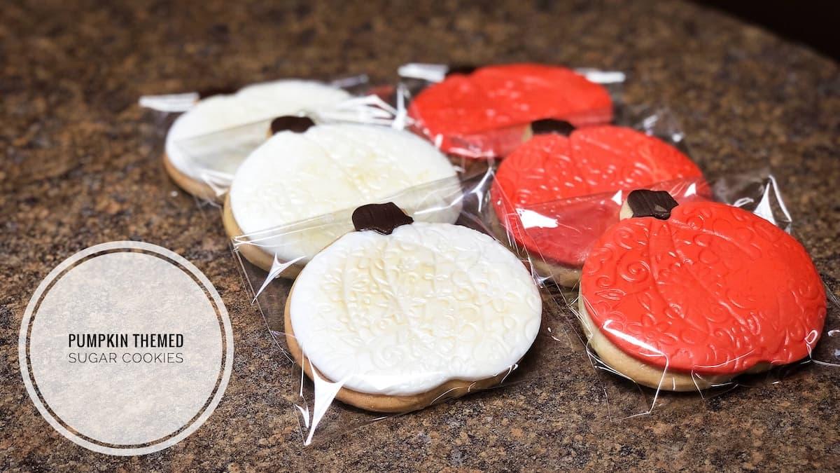 image of Pumpkin Sugar Cookies
